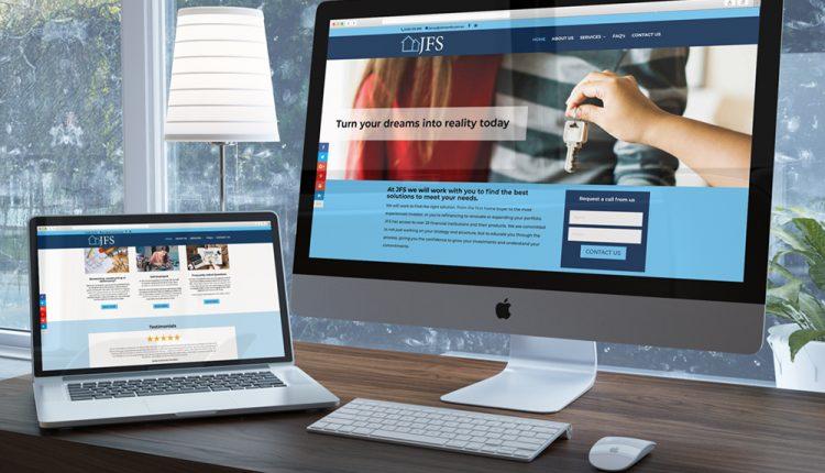 Appealing Financial Website1